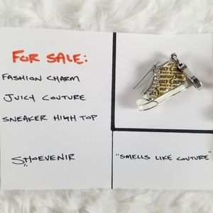 Juicy Couture - Sneaker High Top - Enamel Charm